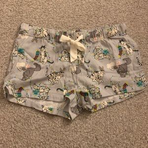 Old Navy Cat Pajama Shorts